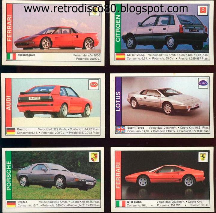 cromos-coches-nostalgia