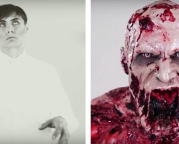 Evolución del maquillaje en las películas de zombies