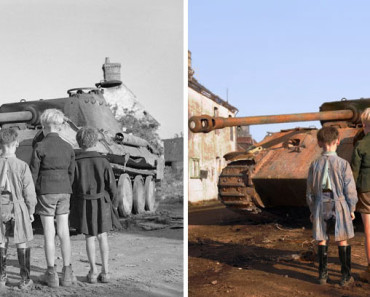 Fotos históricas en blanco y negro pasadas a color