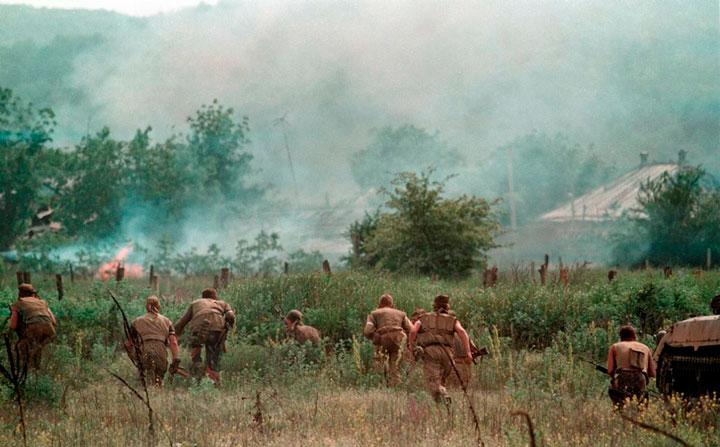 guerrilla-chechena-atacando-emboscada