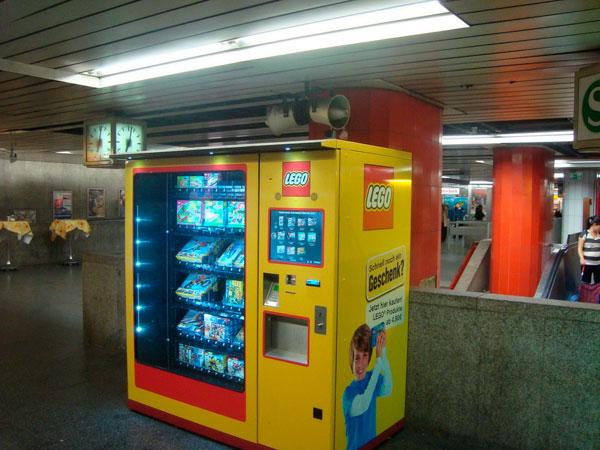 Máquina vending packs Lego
