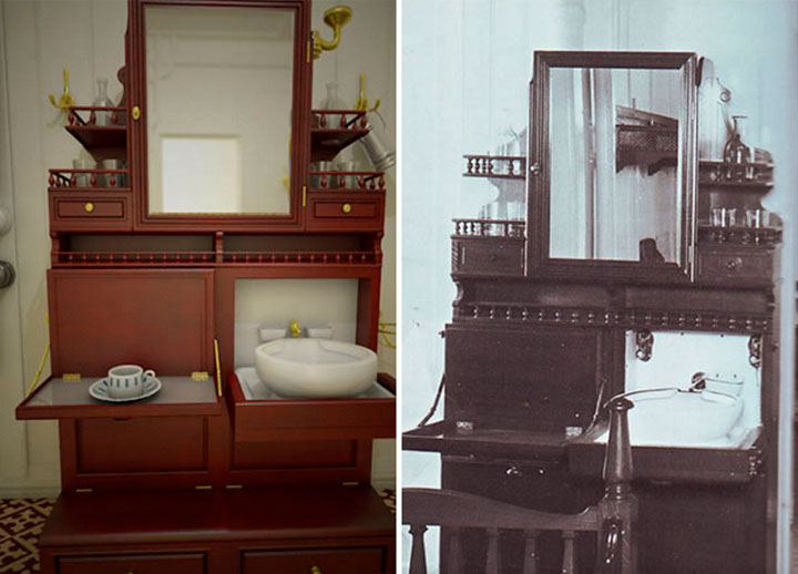 replica-titanic-cabinas-segunda-clase