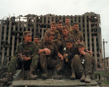 Fotos reales de soldados en las guerras de chechenia