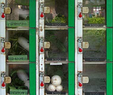 maquina expendedora de verduras