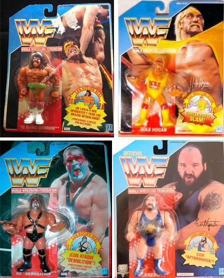 Lucha libre WWF años 90