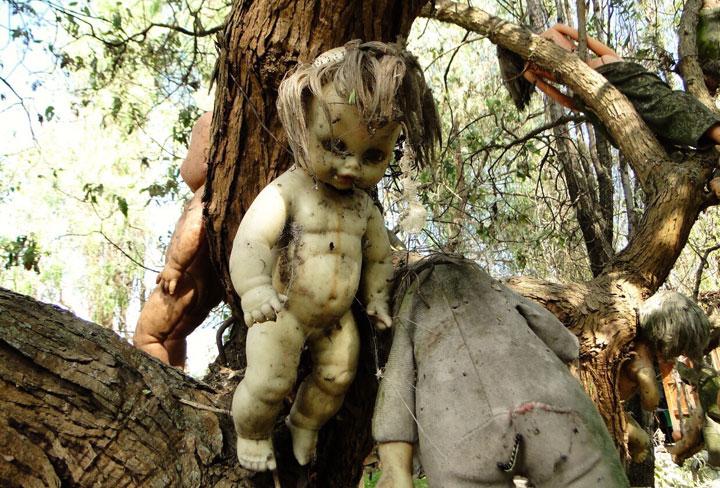 La terrorífica isla de las muñecas en Mexico
