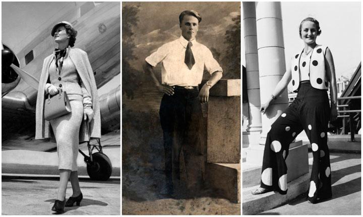 cómo vestíamos en los últimos 100 años