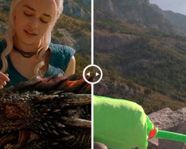 Antes y después de añadir efectos especiales a películas y series famosas