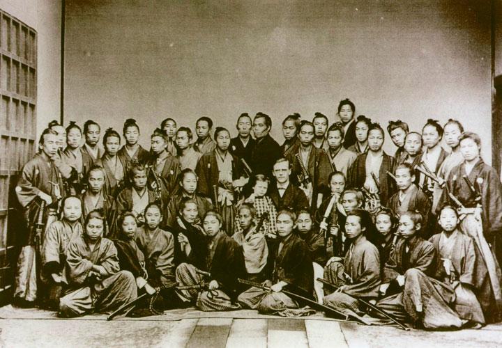 Fotos de los últimos samurais vivos en 1870