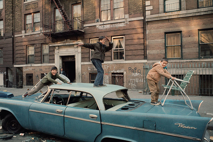 Fotografías Nueva York en los años 70 sur del Bronx