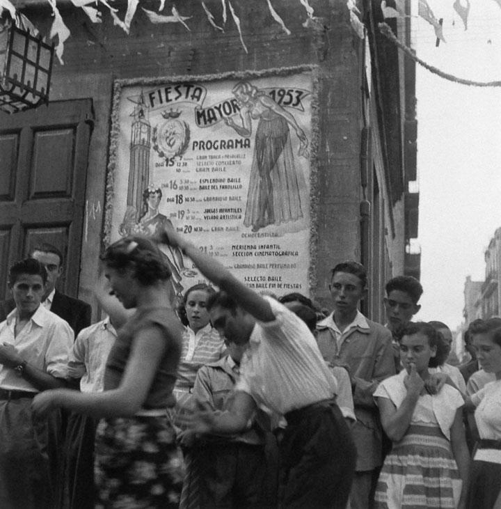 Fiestas de Gracia, Barcelona 1953