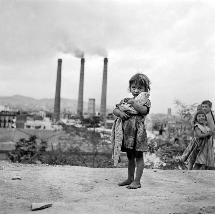 Bariada de Can Tunis en los años 40 Barcelona