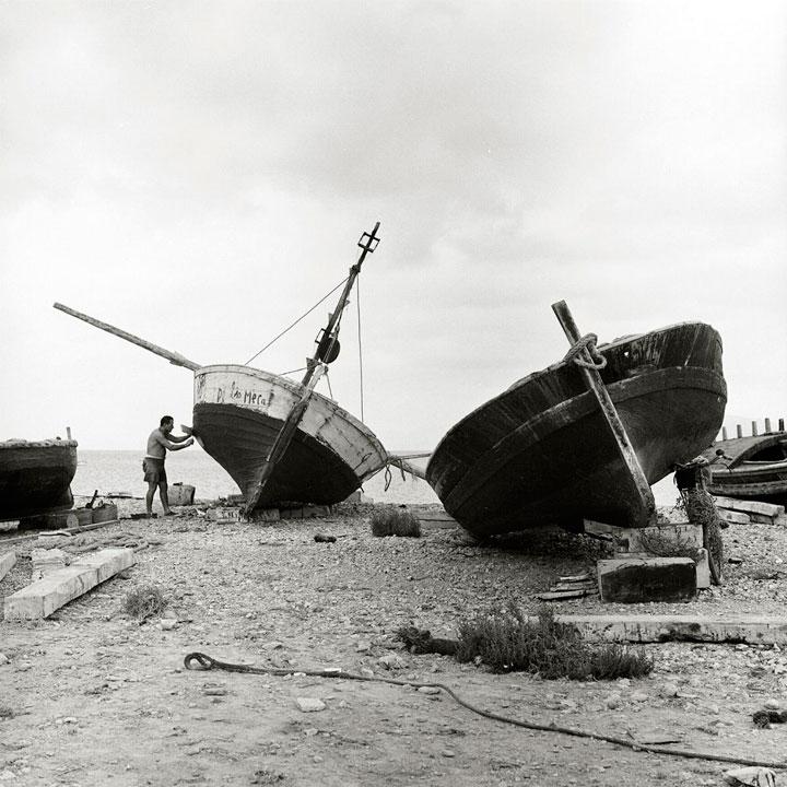 Pescador en La Azohia 1967