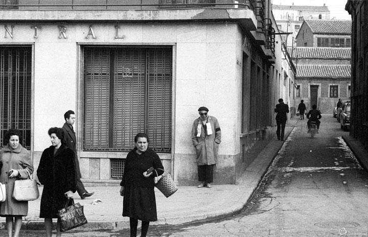 Una calle de Madrid en 1959
