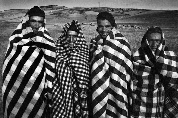 Pastores en Tierra de Campos, Valladolid 1962
