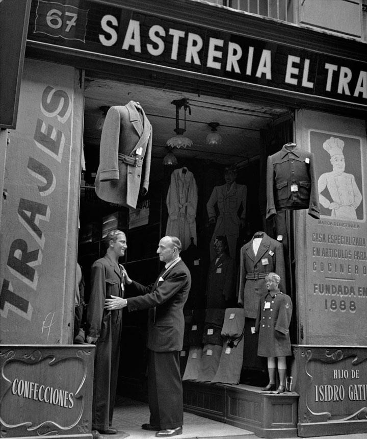 Sastrería Calle Hospital 67, Barcelona en los años 50
