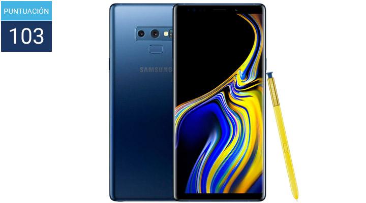 Samsung Galaxy Note 9 en el ranking de mejores cámaras