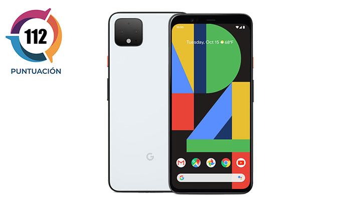 Móviles con mejor cámara del 2020 Google Pixel 4